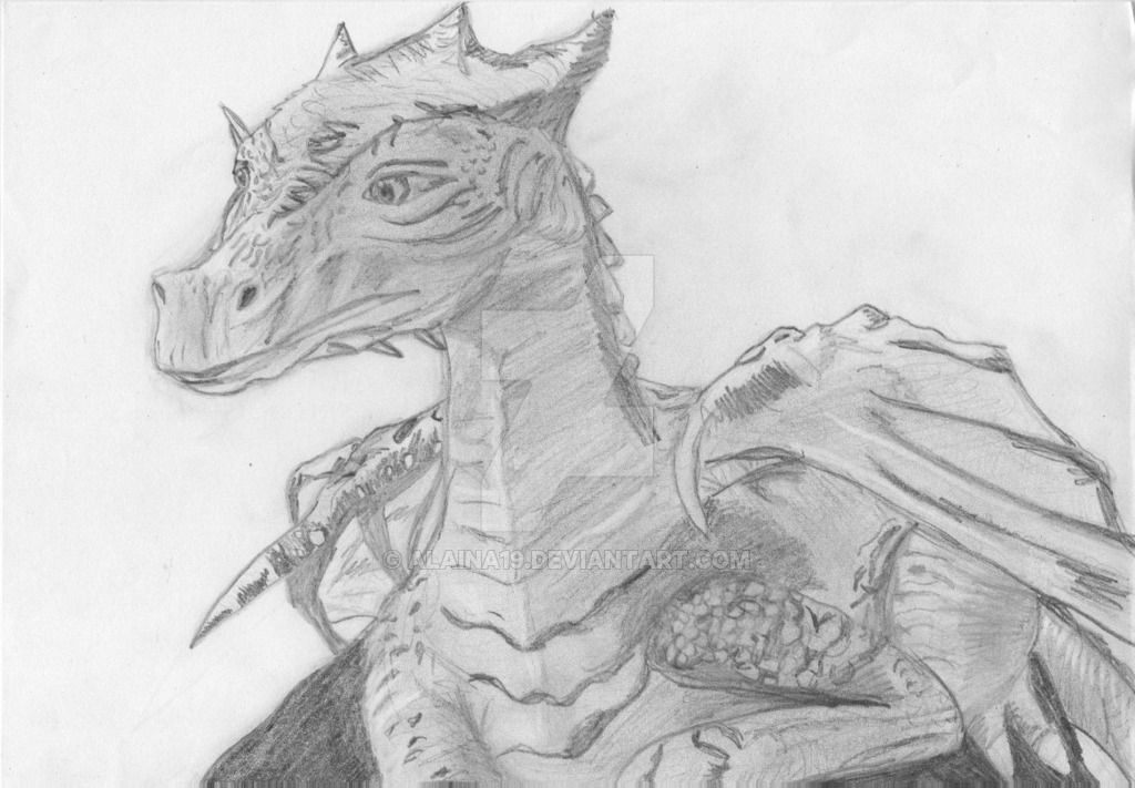merlin drawing dragon google search