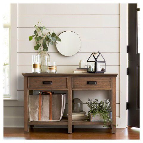 hearth and hand with magnolia joanna gaines new target line round brass mirror affilink. Black Bedroom Furniture Sets. Home Design Ideas