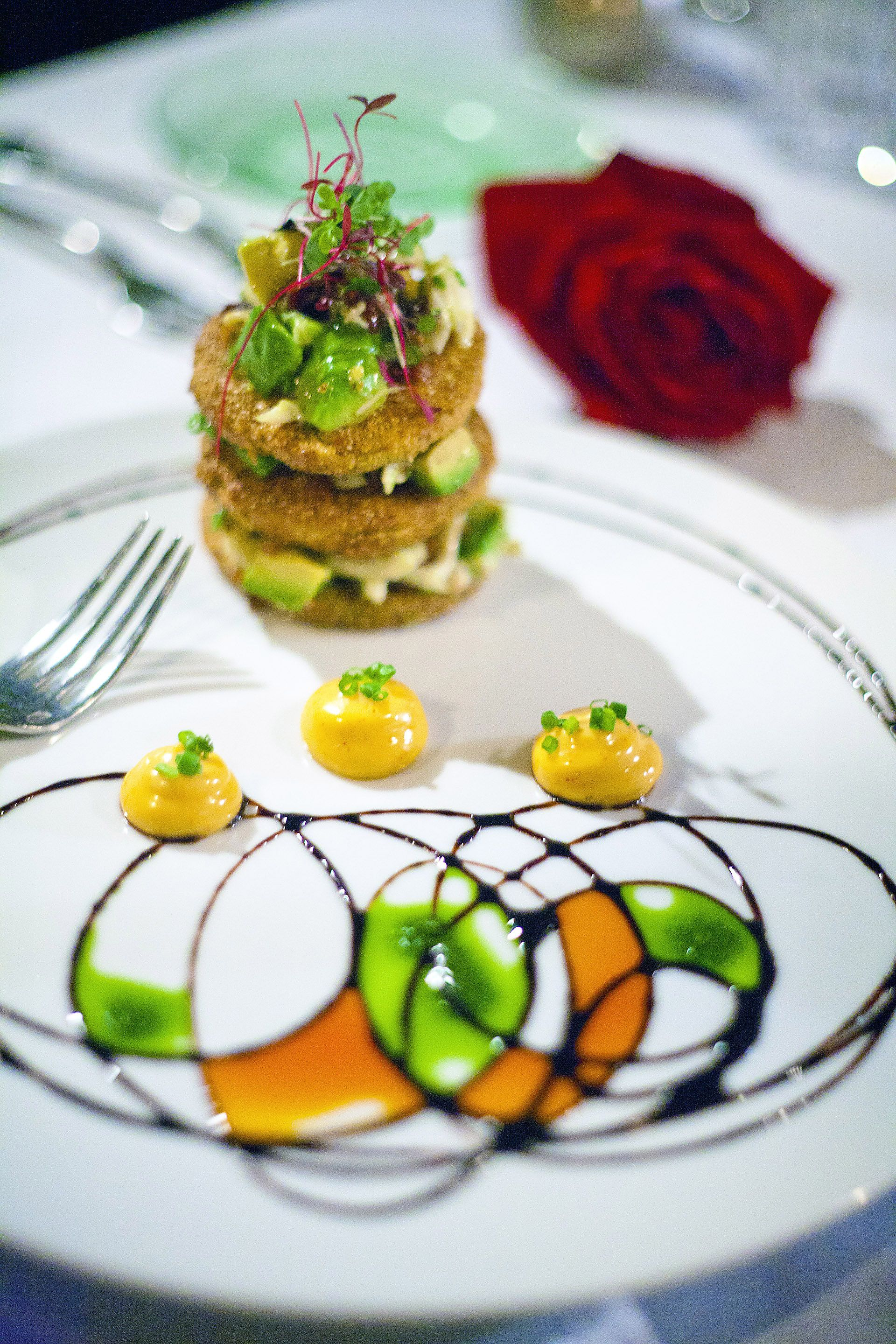 Fine dining how was the presentation pinterest fine for Fine dining food