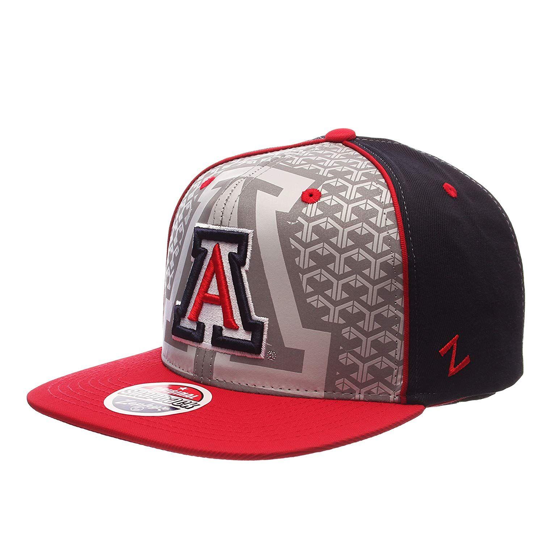 879a6af3051 Zephyr NCAA Arizona Wildcats Men s Reflector Snapback Hat