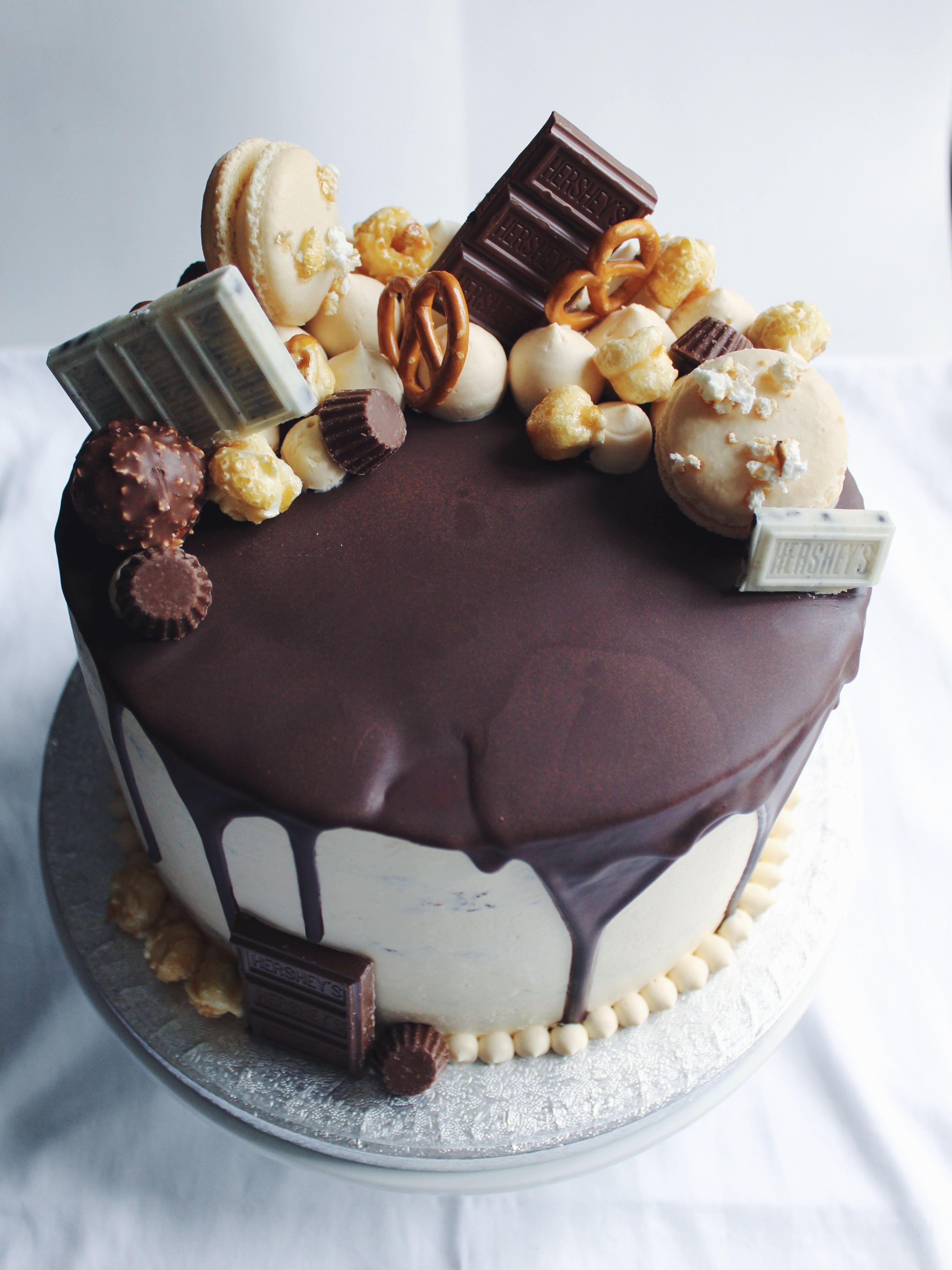 Dec 22 Winter Wonderland Cake With Images Drip Cakes