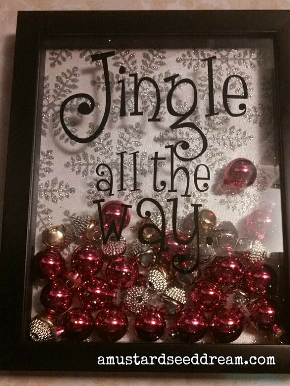 Jingle all the Way  - Wall Decal, Wall Decor, Home Decor, Words