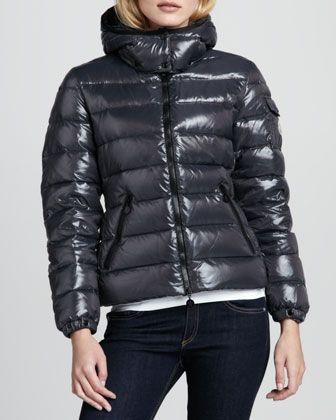 254e0a160 Bady Short Puffer Jacket Gray | fashiony tops | Jackets, Puffer ...