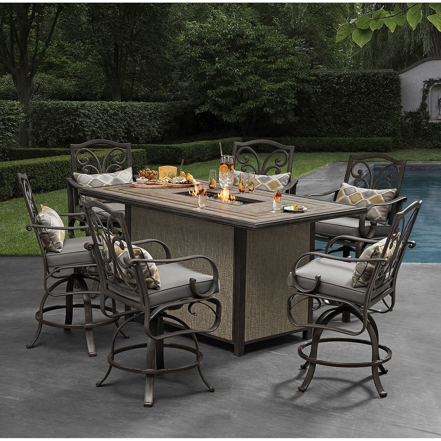 Bar Height Patio Furniture Sams Club Patio Furniture Collection