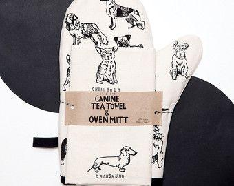Pantalla impresa 100% algodón toalla de té.  La toalla de té perfecta para todos…