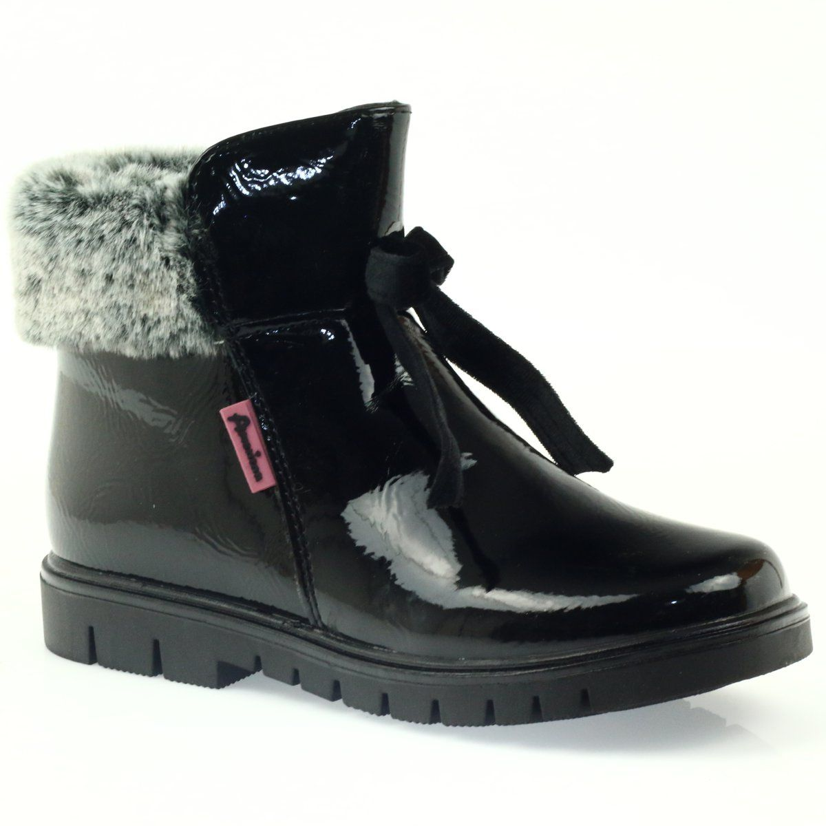 Botki Dla Dzieci Americanclub American Club Czarne Kozaczki Z Futerkiem 18015 Hunter Boots Boots Rain Boots