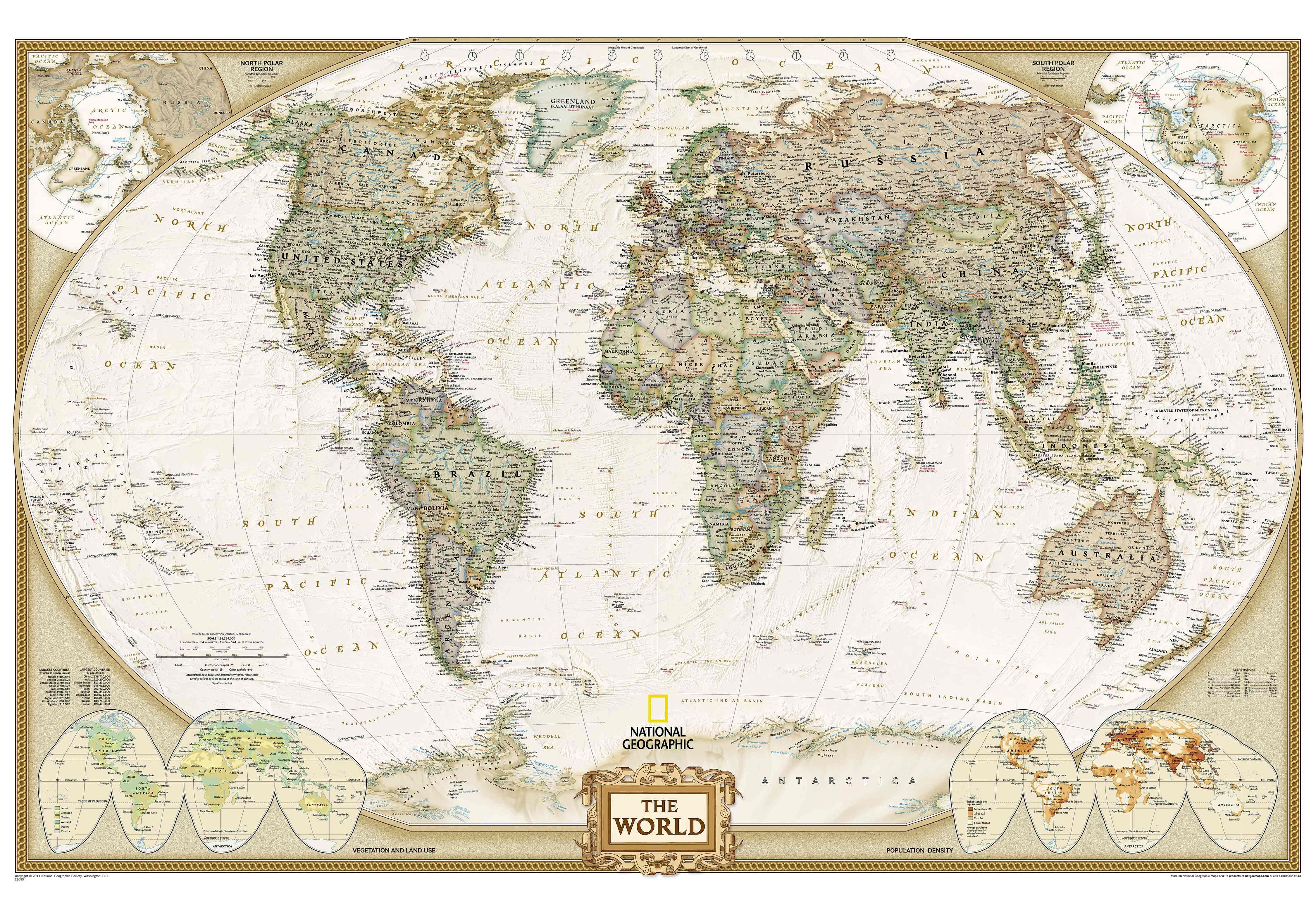 1 world maps online national geographic world map wall mural world executive map antique tones two sizes and spanish available map type enlarged tubed x national geographic maps gumiabroncs Image collections