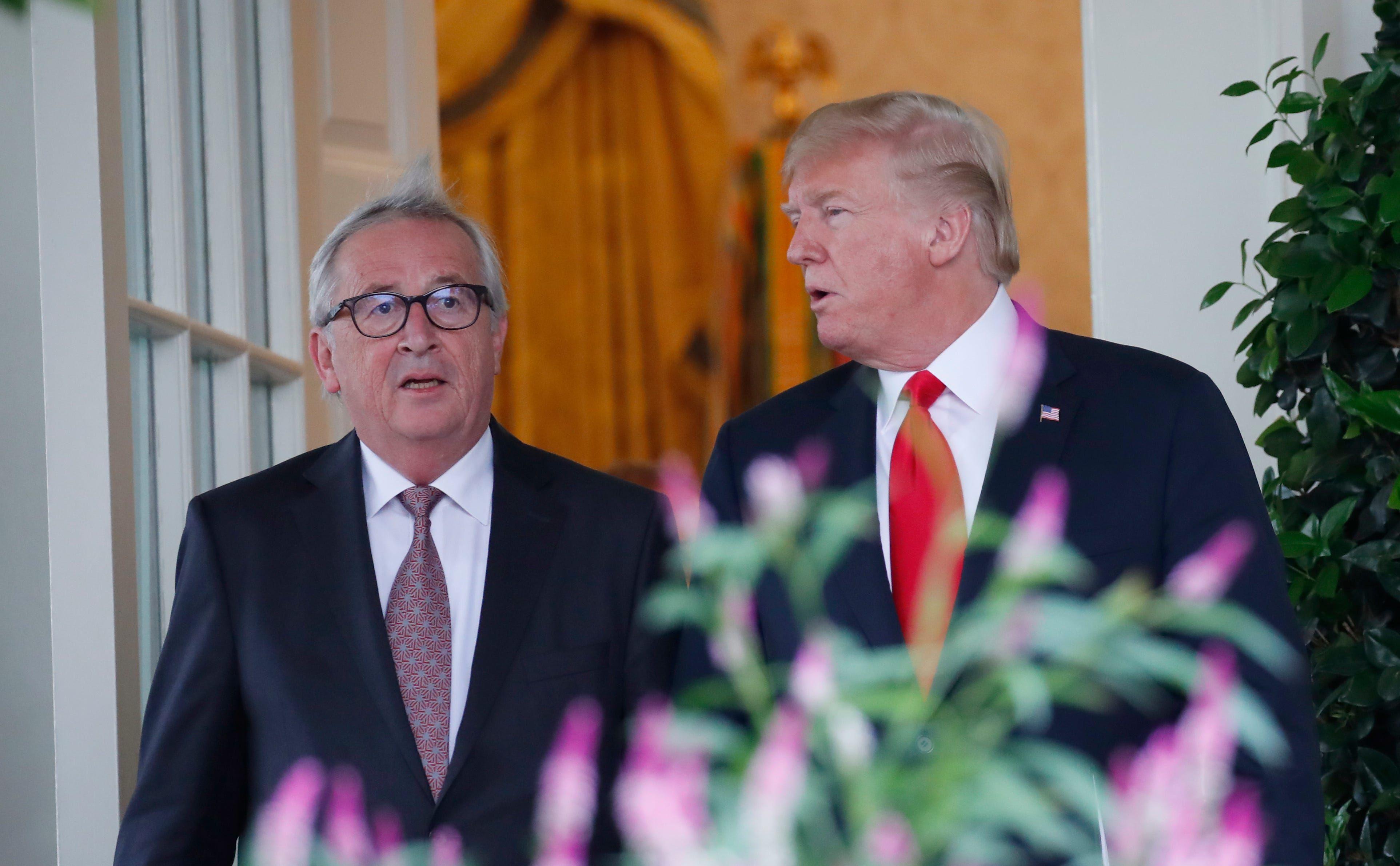 US proposing more tariffs on European goods as part of