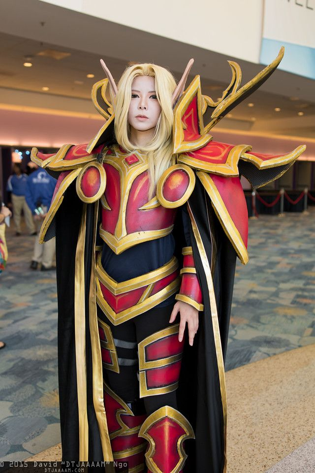 Kael Thas Sunstrider Blizzcon 2015 Cosplay Cosplay