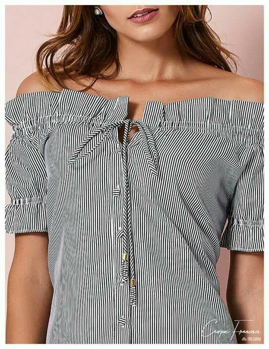 c52236896 Pin de marilda cardoso em Blusas | Blusas, Blusa vestido e Blusas mujer