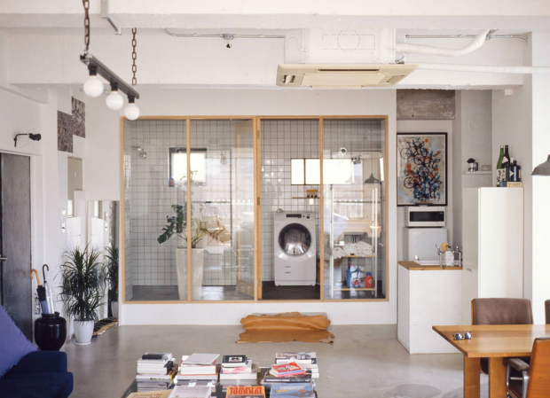 this industrial design loft in tokyo is one hell of an airbnb rh pinterest com