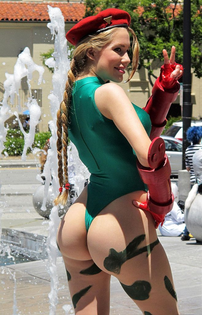 Can consult Street fighter cammy cosplay ass