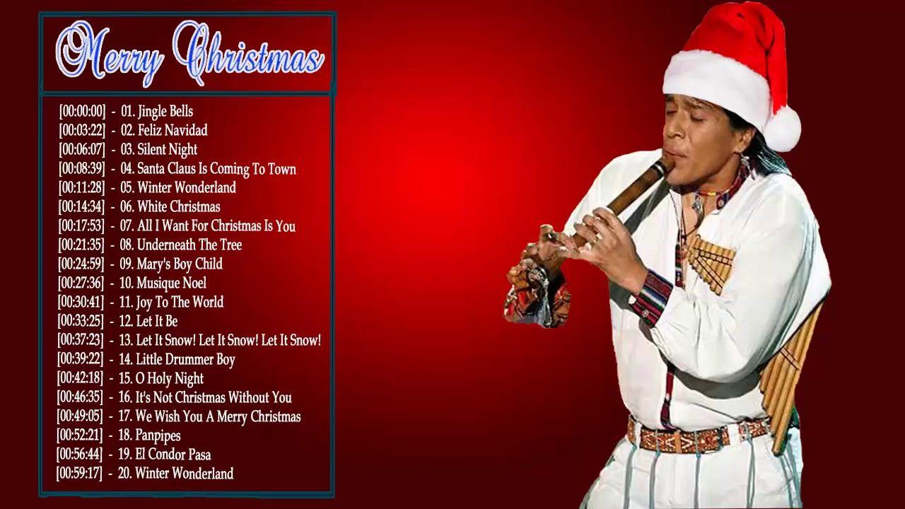 leo rojas pan flute christmas 2018 top 20 christmas songs great hit 2018 - Top 20 Christmas Songs