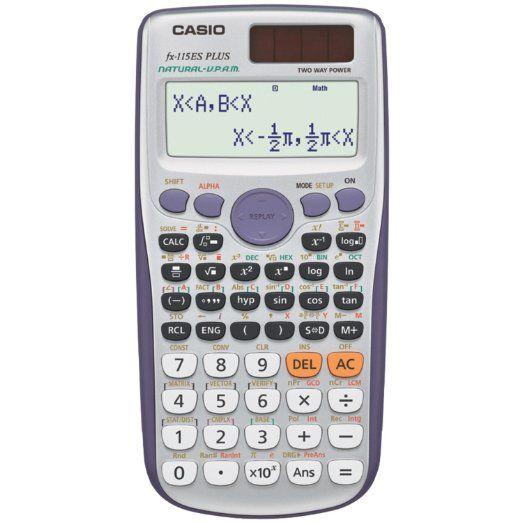 Casio Scientific Calculator FX-115ES PLUS | School Supplies