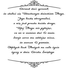Chrzest św Digi Stemple Cytaty życiowe I Powiedzenia