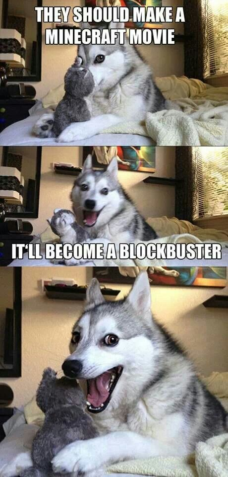 Omgoodness. That husky is so cute XD and that joke makes me laugh