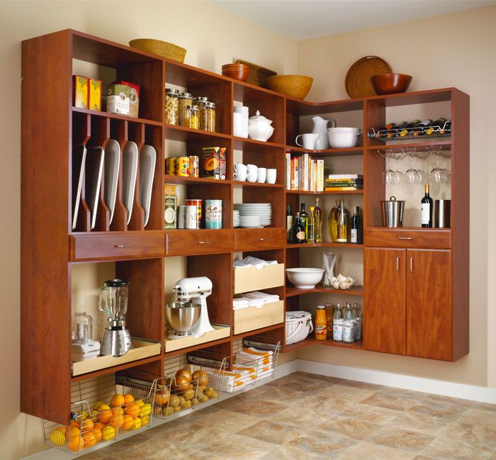 Kitchen Pantry Organization Custom Pantry Solutions Of Michigan - How to add a pantry to your kitchen