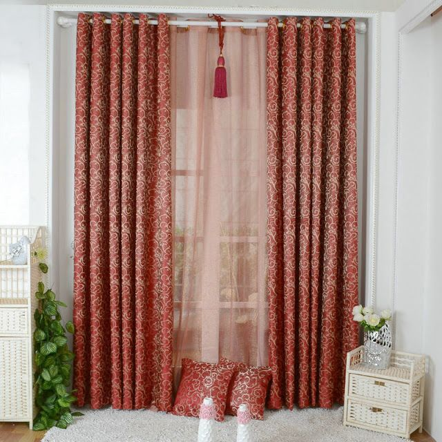 احدث اشكال الستائر غرف النوم Modern Bedroom Home Decor Curtains