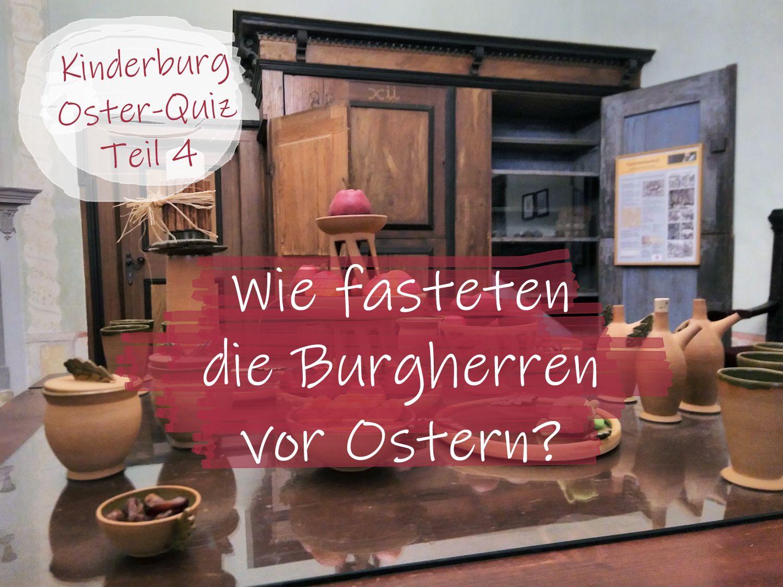Kinderburg Oster Quiz Teil 21 Schafe fürs Leben – Wie fasteten die ...