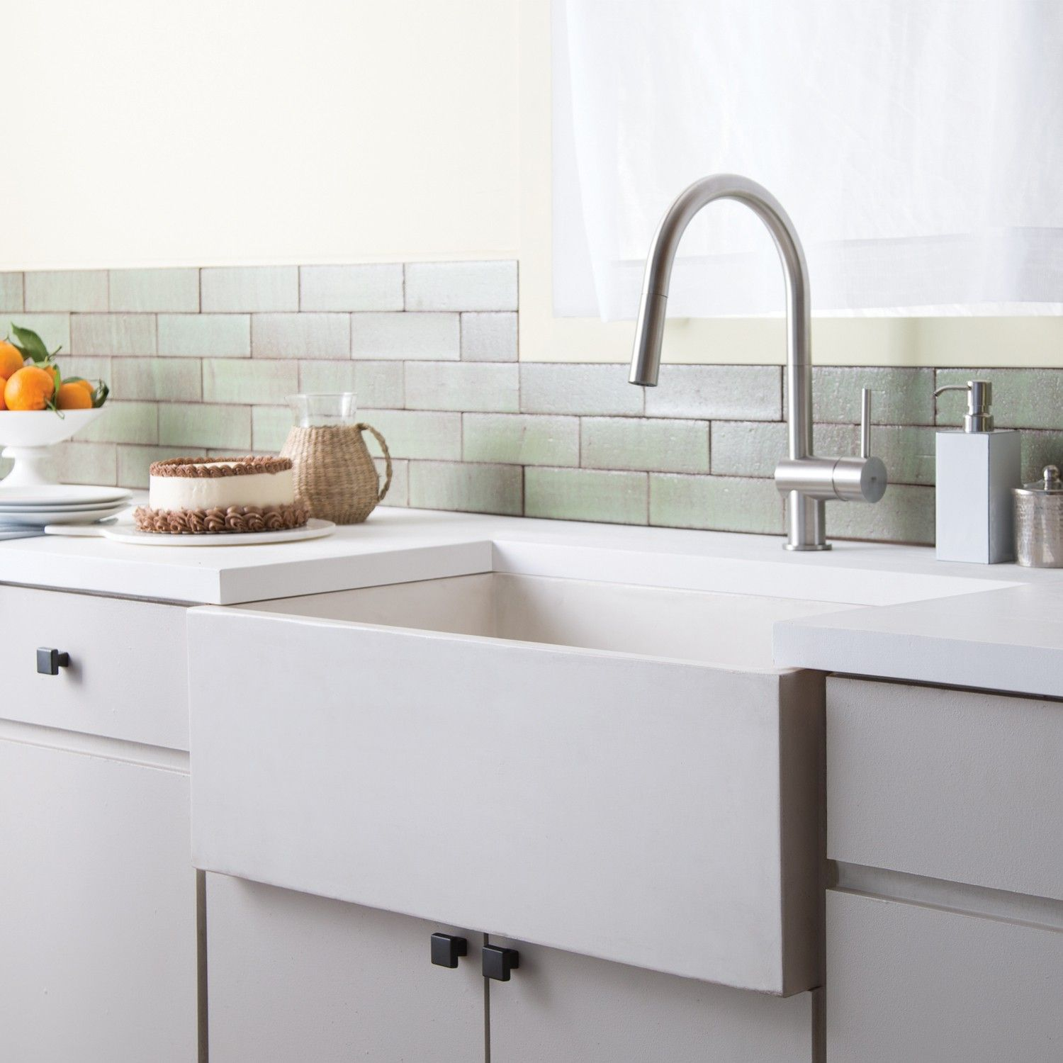 Lovely Farmhouse Sink In Modern Kitchen The Most Elegant As Well As Attractive Farmhouse Sink In Modern Kitchen Intended For Really Encourage The House Curre