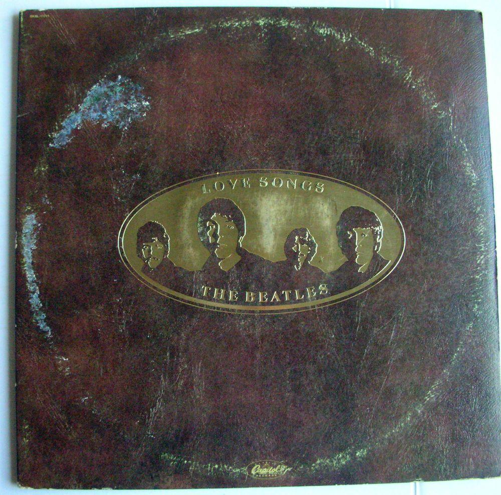 THE BEATLES LOVE SONGS Double LP #BritishInvasion