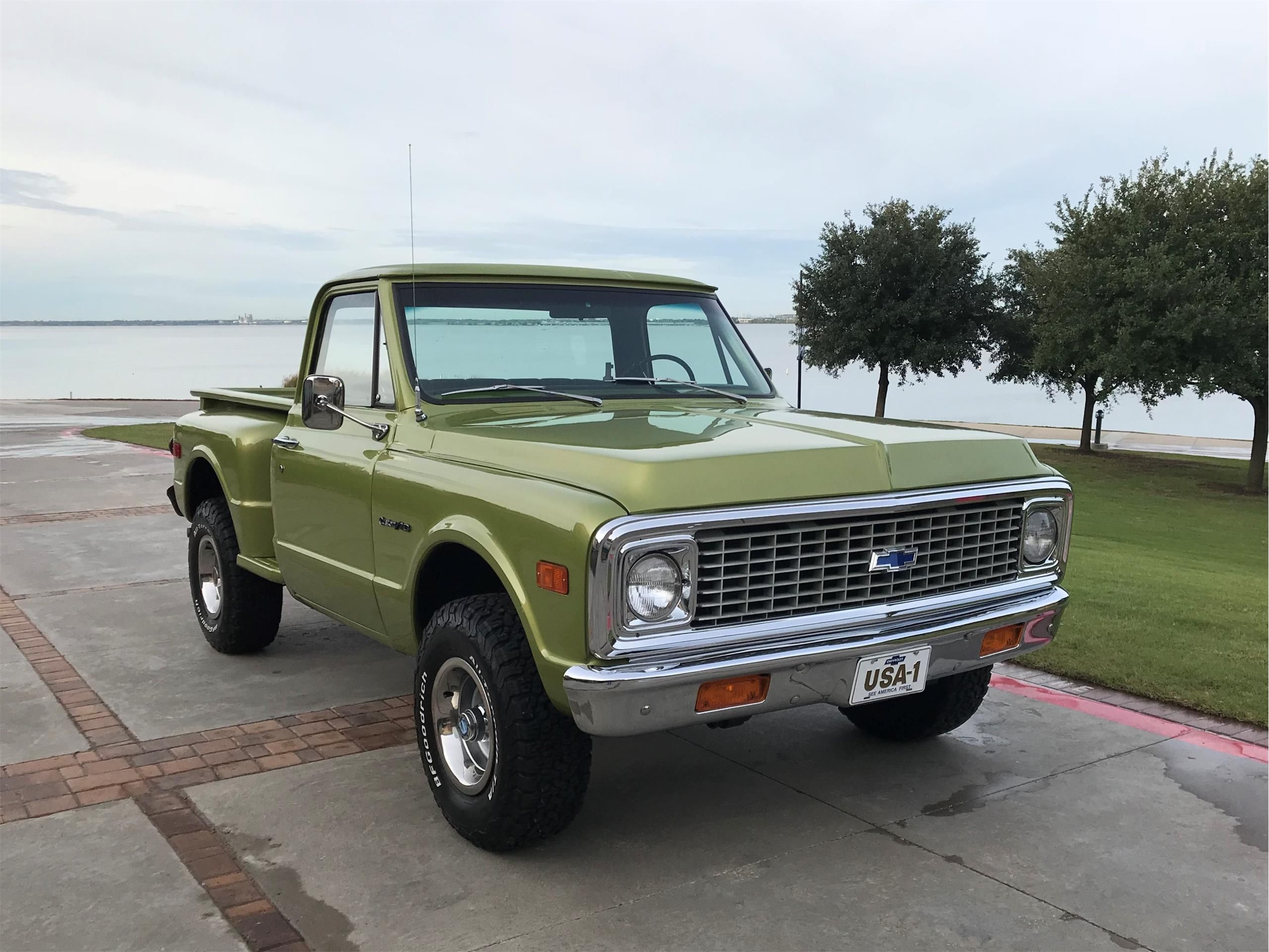 1972 Chevy Pickup For Sale Listing Id Cc 1159977 Classiccars Com Driveyourdream Classictruck Chevrolet Pickup Classic Chevy Trucks Trucks