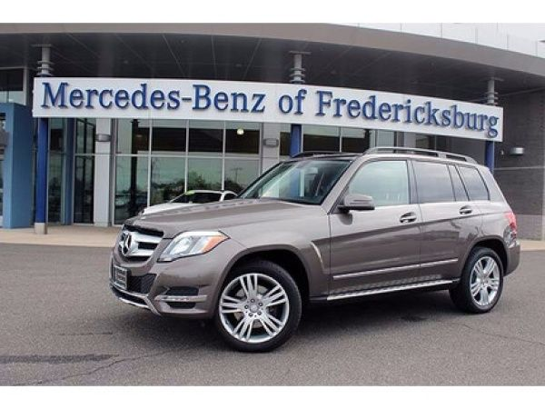 Certified Pre Owned 2014 Mercedes Benz GLK Class For Sale In Fredericksburg,