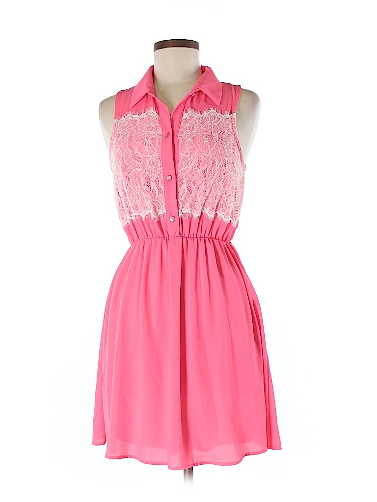 Check it out—Pink Owl Casual Dress for $20.99 at thredUP!