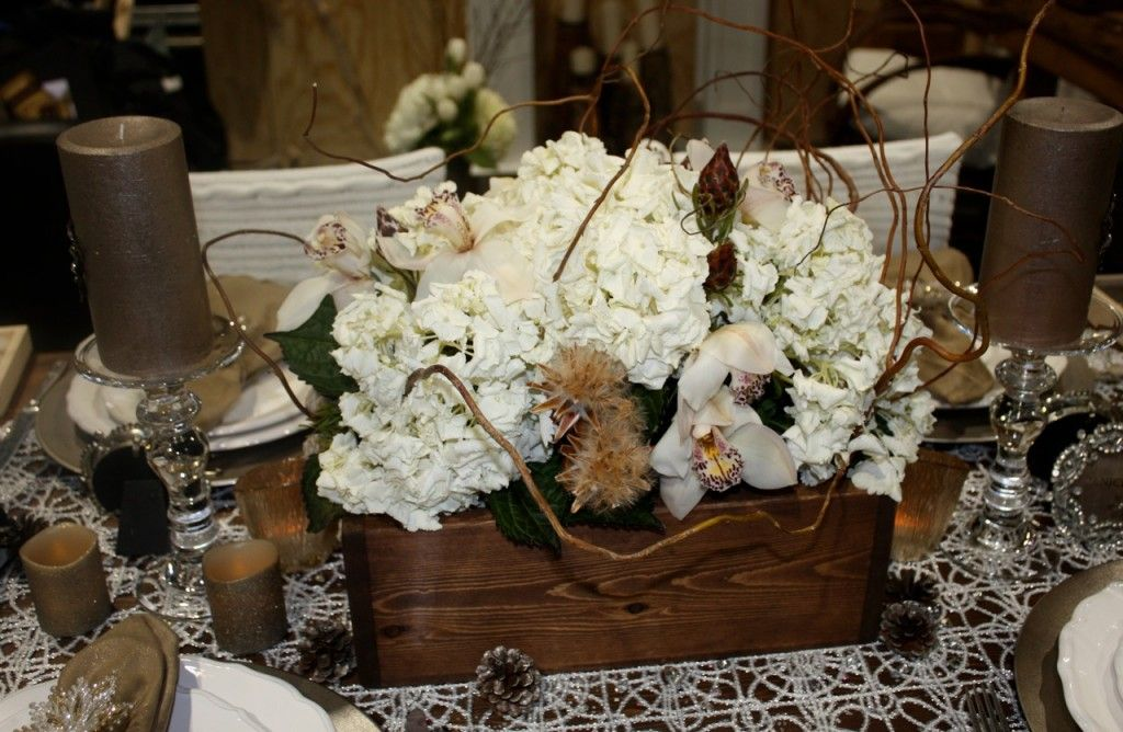 Pinterest Winter Wedding Centerpieces: Rustic Winter Wedding Ideas