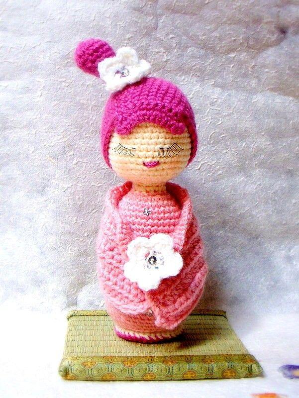 Amazon.com: Amigurumi Doll (Maya): Handmade   800x601