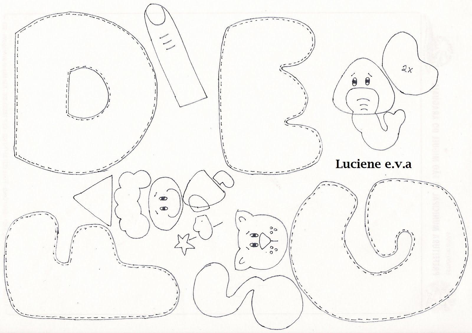 Luciene e.v.a: alfabeto ilustrado