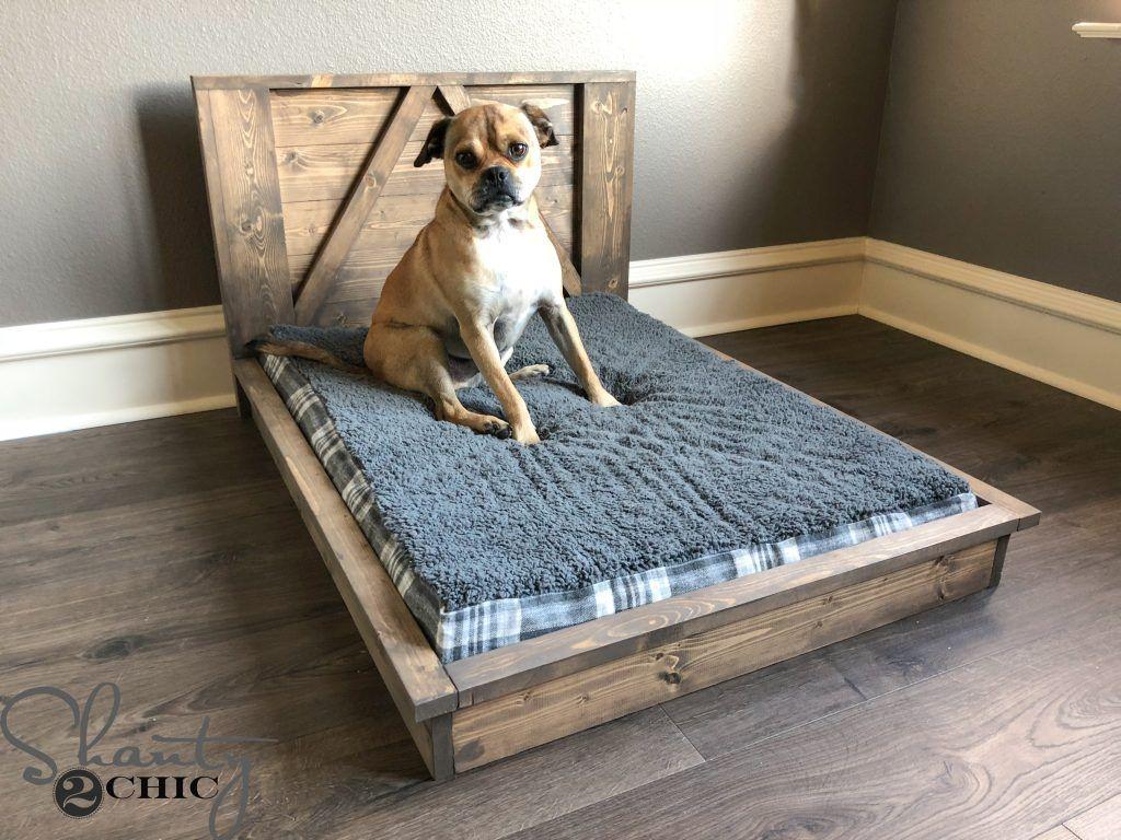 Diy Farmhouse Dog Bed Farmhouse Dog Beds Pallet Dog Beds Diy