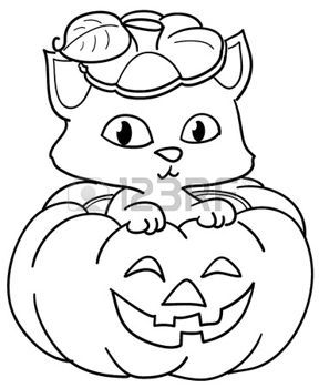 Pompoen Kleurplaat Google Zoeken Halloween Pinterest