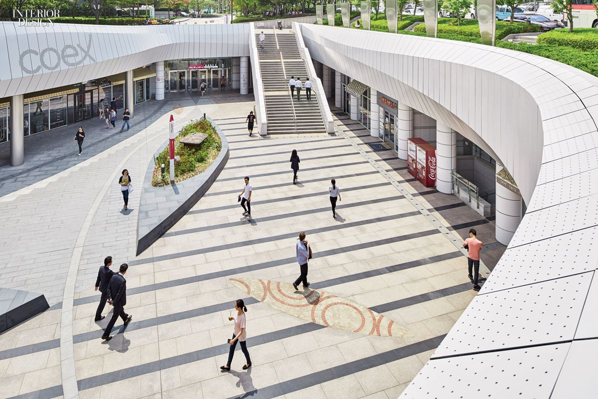 Gensler la designs coex asias largest underground retail center