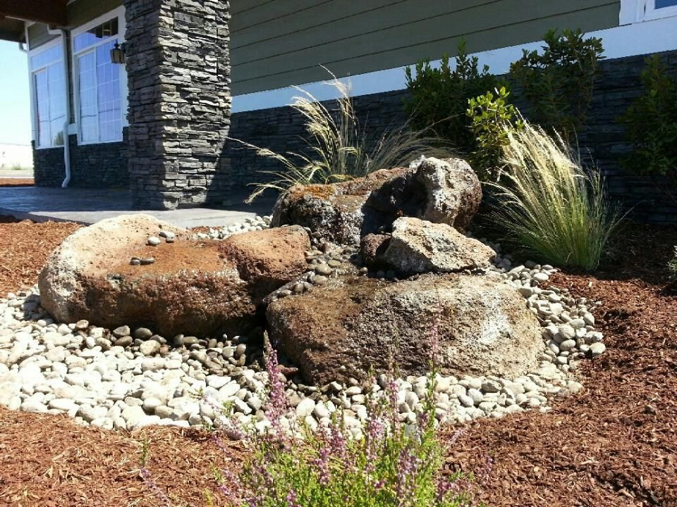 Located in Jacksonville, near Medford Oregon Scofield Landscape Company has  been serving Southern Oregon residents since Retaining walls, paver  construction ... - Bubbling Rock Water, Falls, Streams Pinterest Rock, Medford