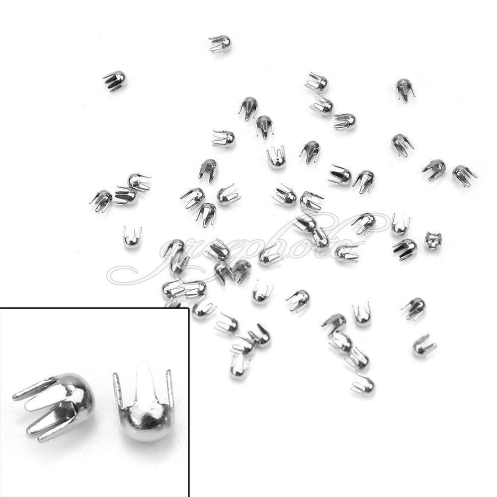 2.60$ 98,8% 1000Pcs Punk Rock Round Rivet Spike Studs Spots For DIY Bags Shoes Clothes Decor #UnbrandGeneric
