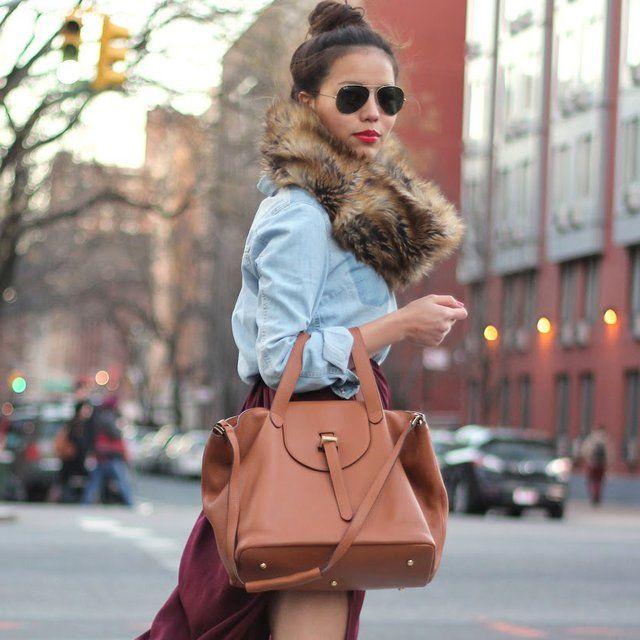 Tan Cervo Thela Bag By Meli Melo Women Fashion Star