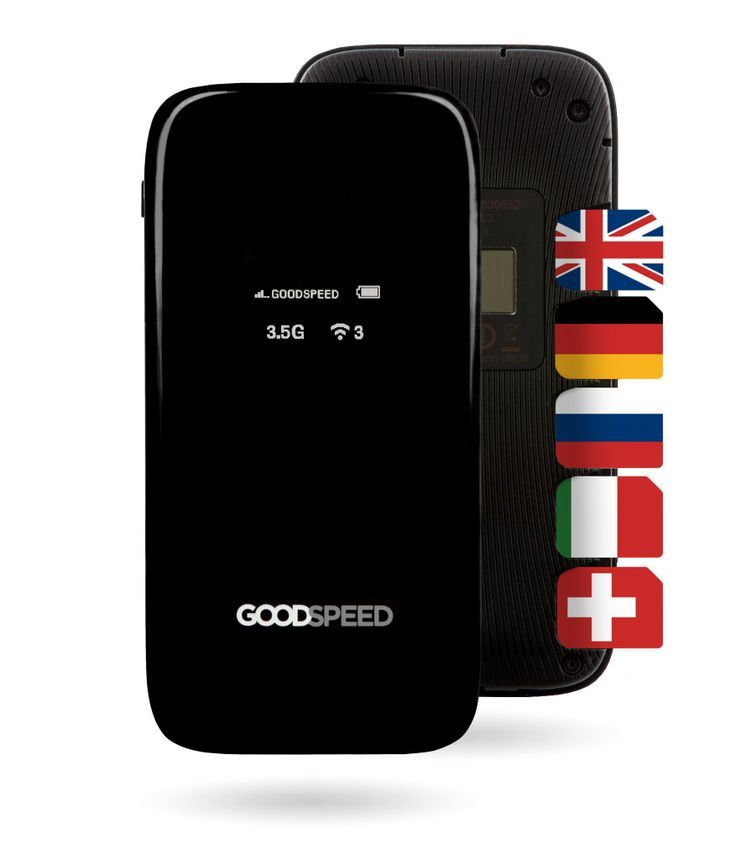 Goodspeed personal mobile hotspot the iF design award