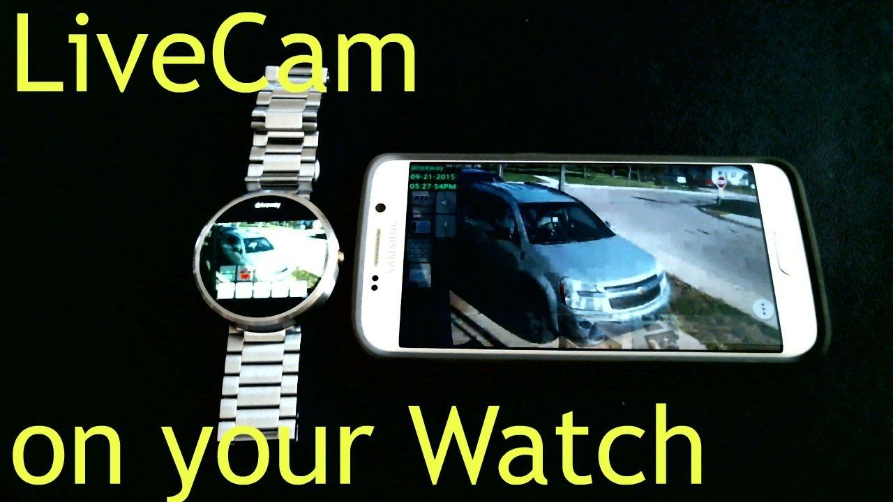 Smart Watch Home Security