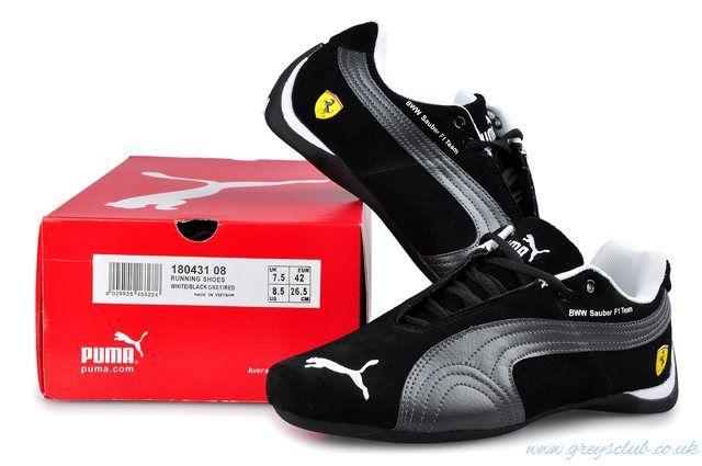 Symbol Of The Brand Puma BMW Sauber F1 Team Shoes Black