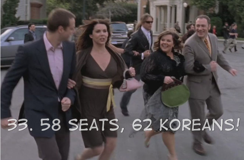 It's a good thing we had to this to laugh about given Lorelai's alcoholic rant
