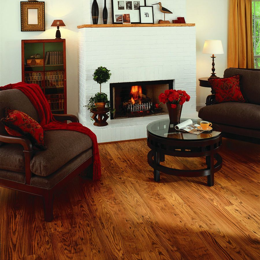 Shop pergo max w x l rustic chestnut for Rustic pergo flooring