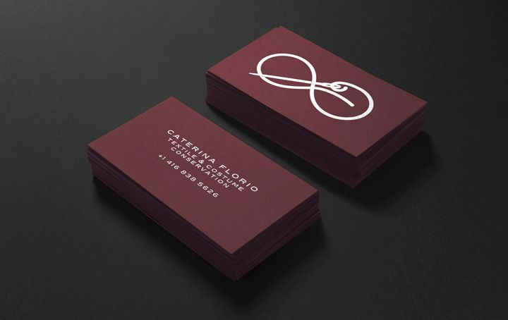 logo and business card design for canadian national gallery