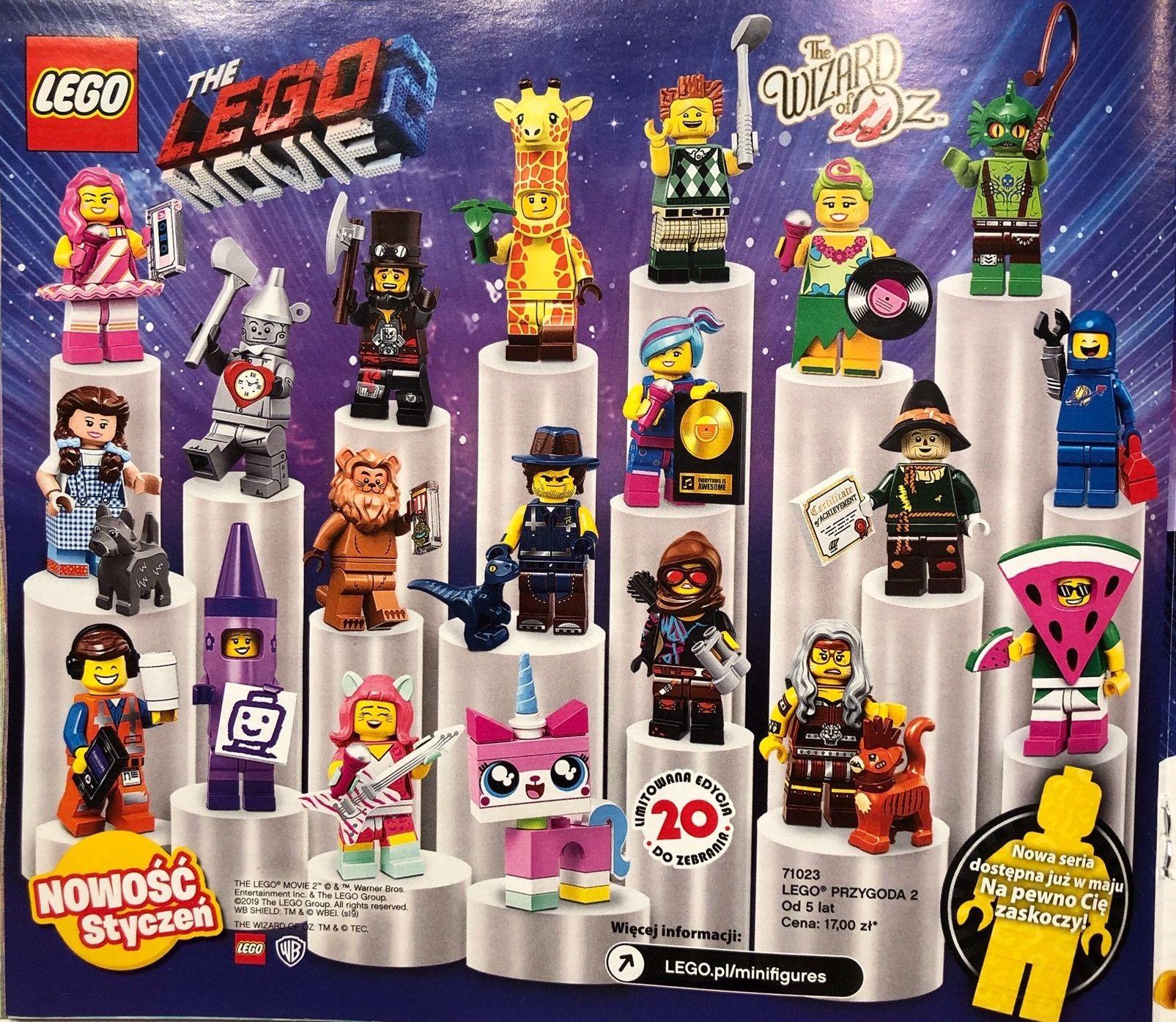 LEGO 71023 Minifigures SÉRIE LA GRANDE AVENTURE MOVIE 2