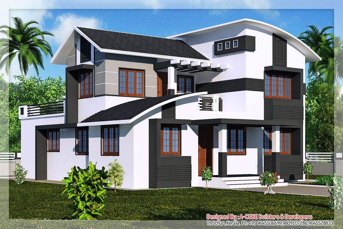 Kerala house plans and elevations keralahouseplanner my for Duplex house models kerala