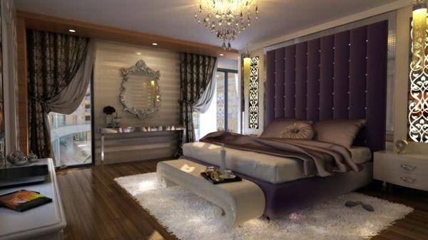 Déco intérieur design la chambre coucher rétro moderne Bedrooms