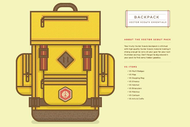 Vector Scouts Pack Vector Pixel Art Background Illustration Design