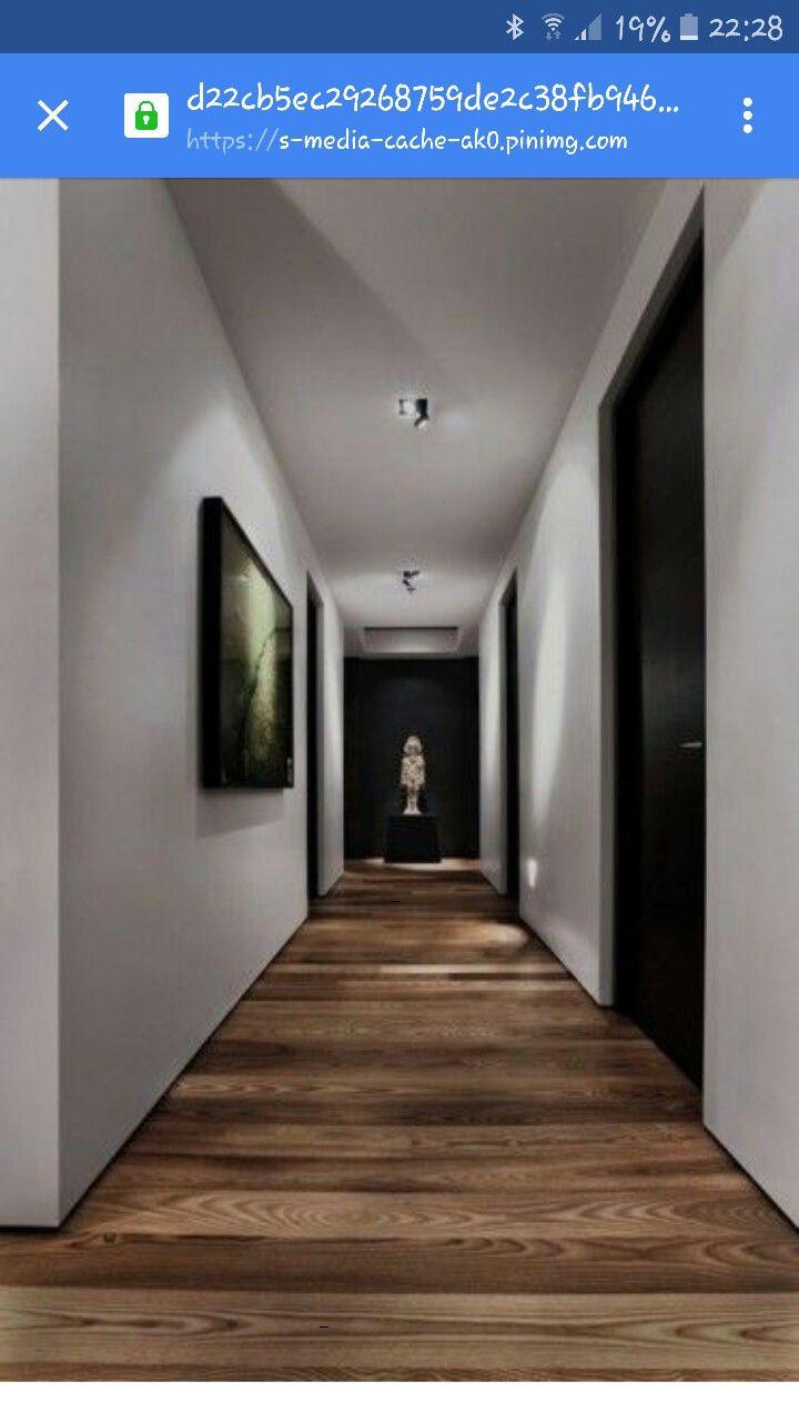 Lovely Floor Liking No Skirting Boards Corridor Design