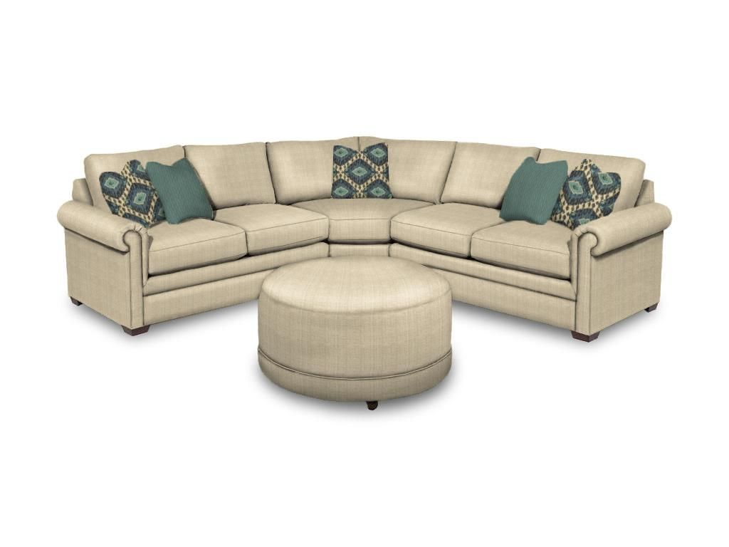 Craftmaster Living Room Sectional F9123Sect Norwood Furniture