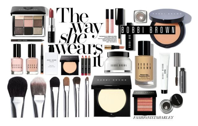 """Get a Look Using Only Bobbi Brown Cosmetics //"" by fashionistaharley ❤ liked on Polyvore featuring beauty, Bobbi Brown Cosmetics, Beauty, makeup, BobbiBrown and cosmetics"